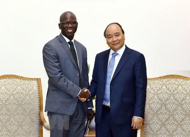 政府总理阮春福会见世行驻越首席代表奥斯曼•迪奥