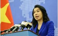 越南坚决、坚持维护越南的主权
