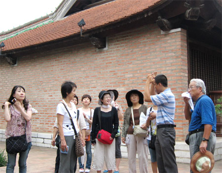 在日本推介越南旅游业
