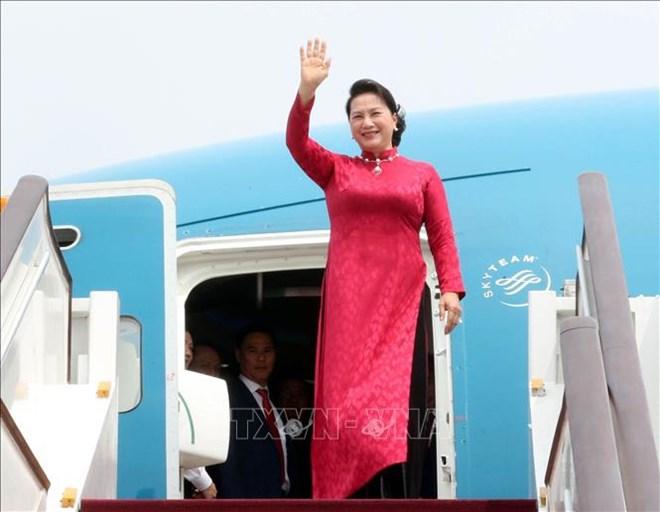 国会主席阮氏金银抵达北京 继续对中国进行正式访问