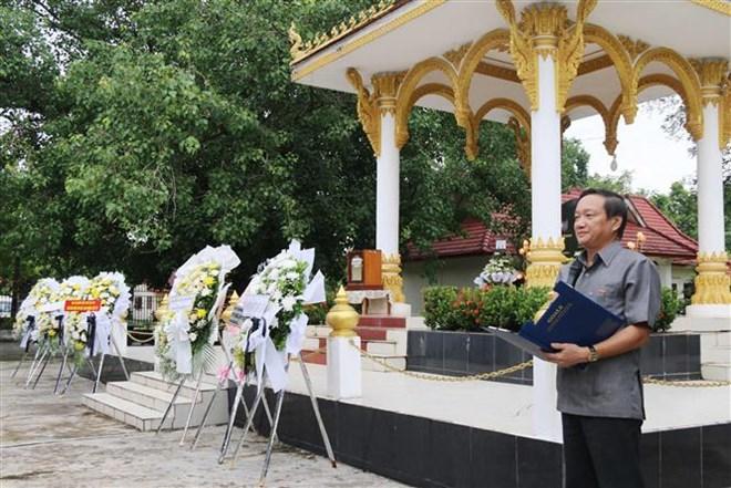 越南伤残军人和烈士日72周年纪念活动在老挝举行