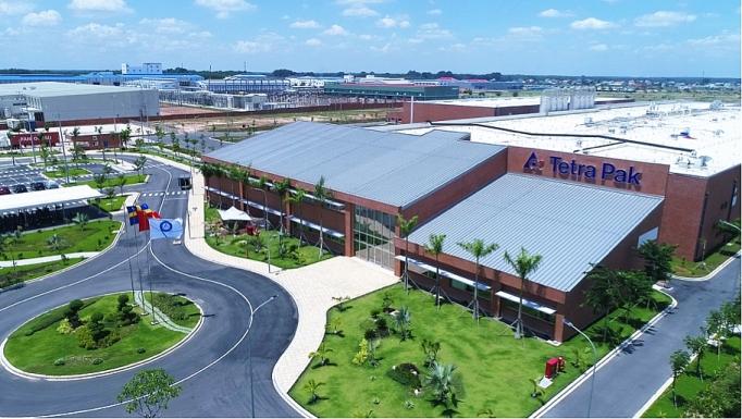 瑞典利乐公司包装盒厂在平阳省落成