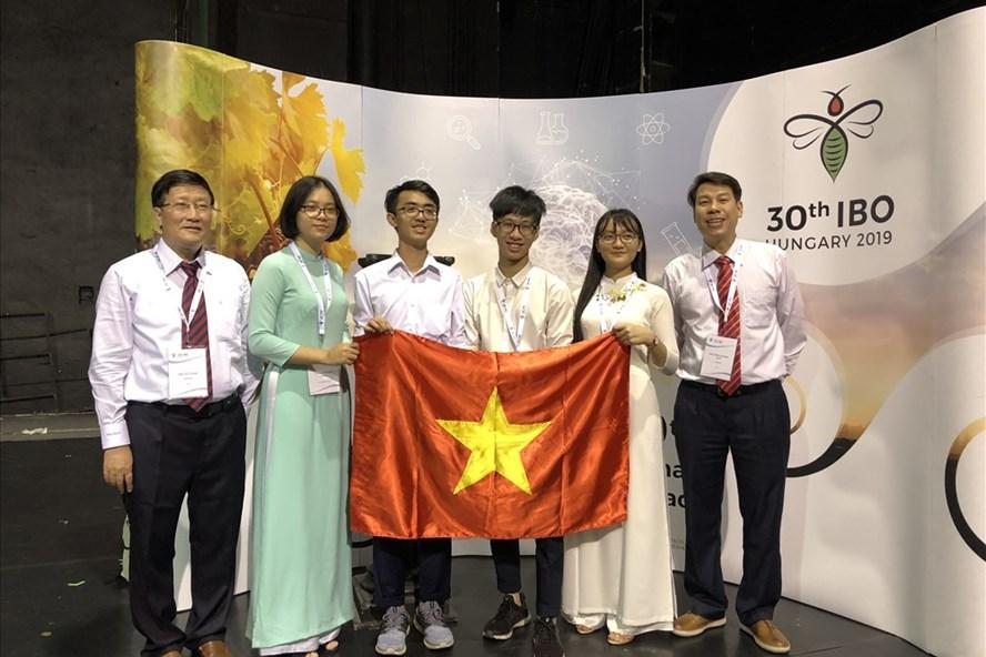 2019年国际生物学奥赛:越南4名选手全部获奖
