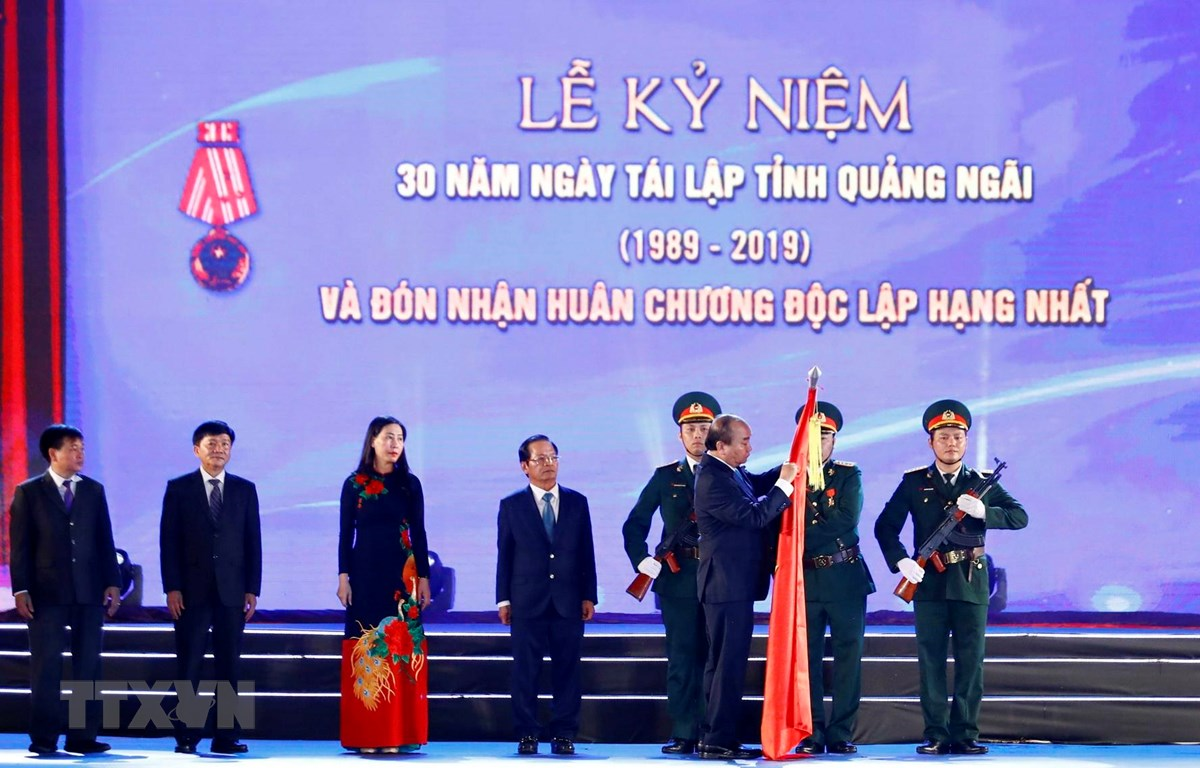 政府总理阮春福出席广义省重建30周年庆典