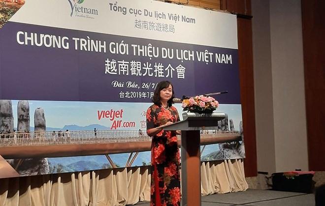 越南在中国台湾举行观光推介会