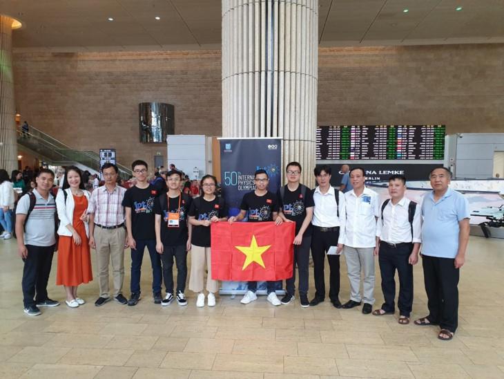 越南在2019年国际物理学奥赛夺得3金