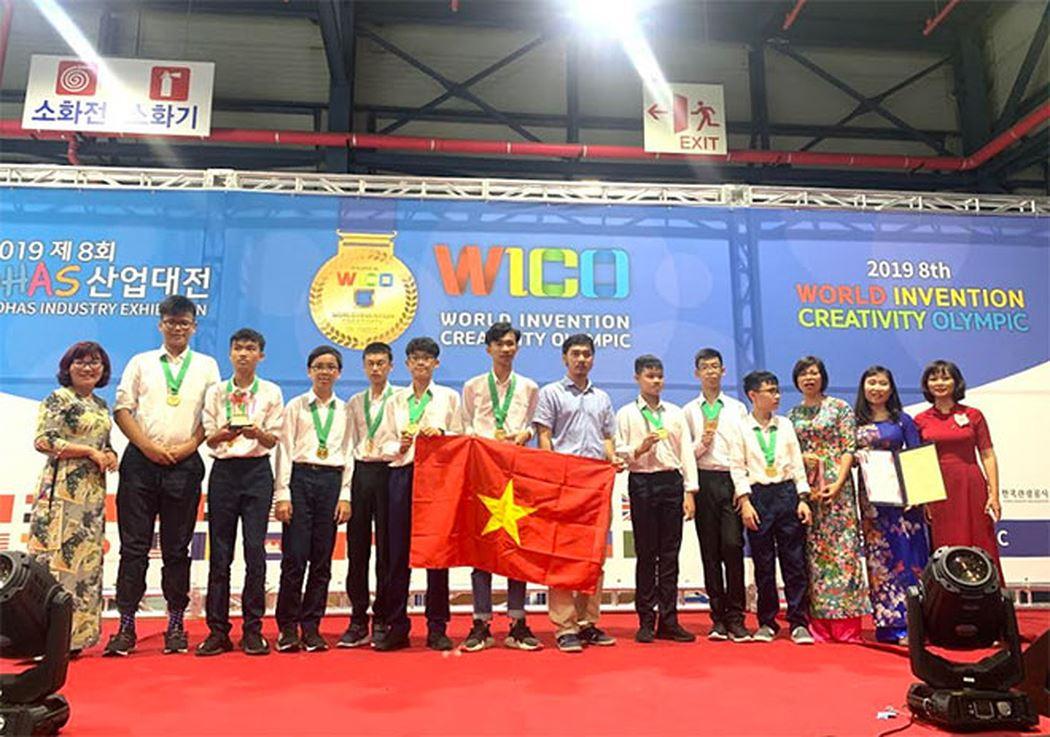 越南学生荣获世界发明创意奥林匹克大会金牌