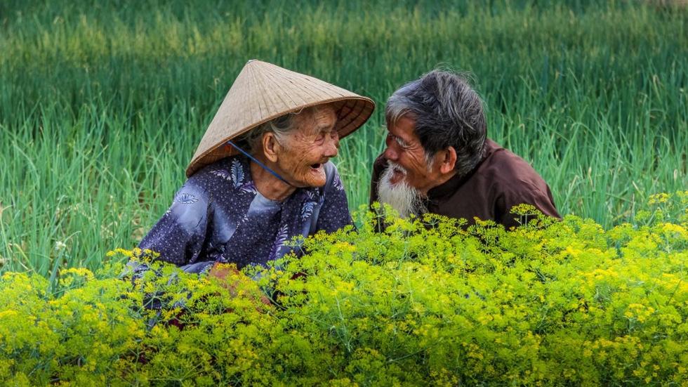 越南老年夫妇的《相爱到永远》照片入围国际摄影比赛前50名单