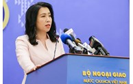 越南外交部发言人:中国要从越南专属经济区撤走全部船只