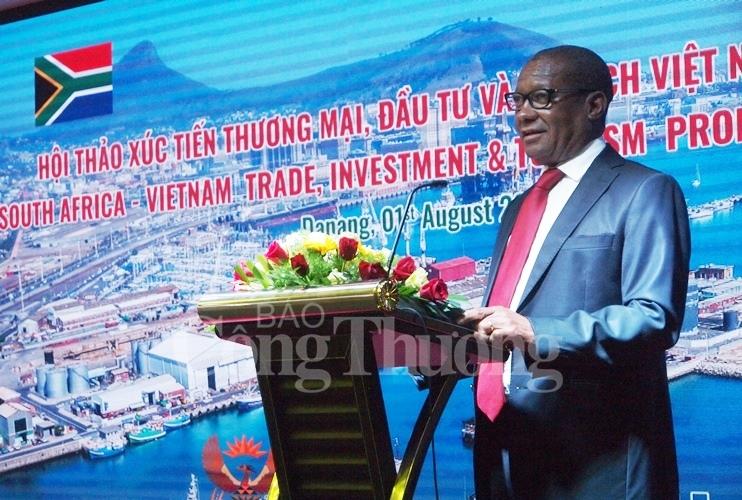 南非希望尽快与越南签署矿产和农业合作协议