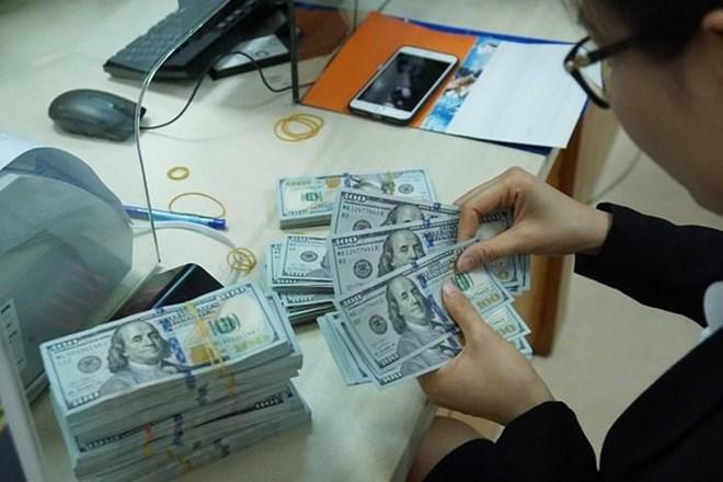 8月9日越盾对美元汇率中间价下降5越盾