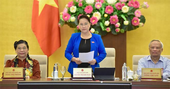 越南第14届国会常务委员会第36次会议进行质询活动