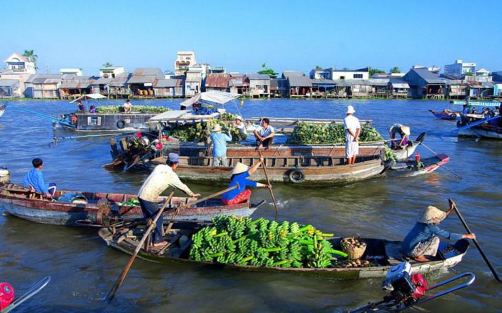 芹苴市被列入世界15座最美滨河城市名单