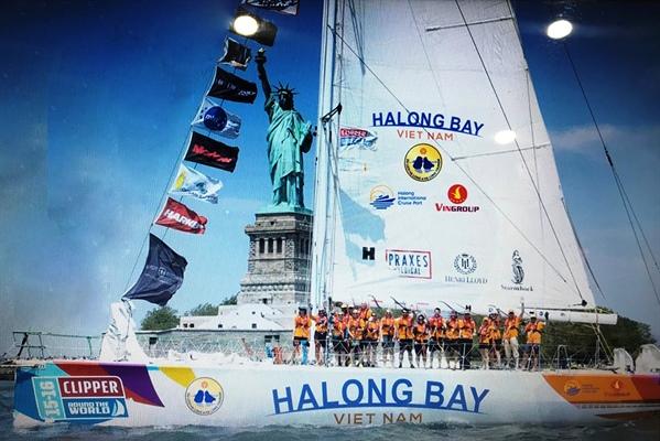 广宁省参加克利伯环球帆船赛