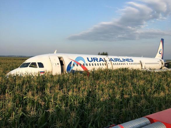 俄一架客机硬着陆造成23人受伤