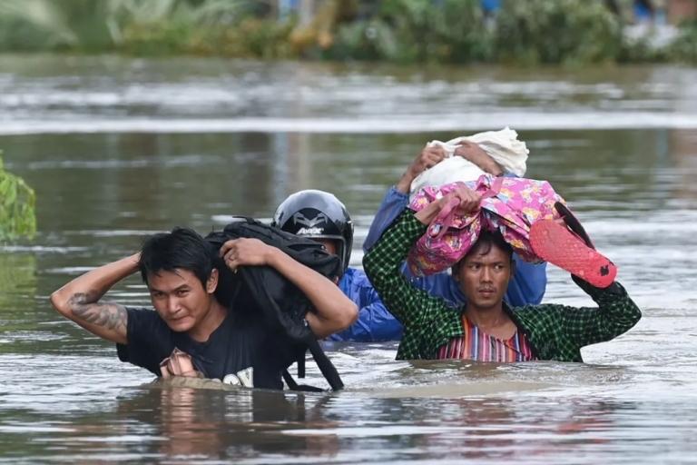 缅甸山体滑坡死亡人数增至65人