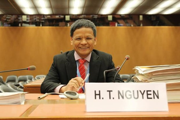 越南代表出席联合国国际法委员会第71届大会第二次会议