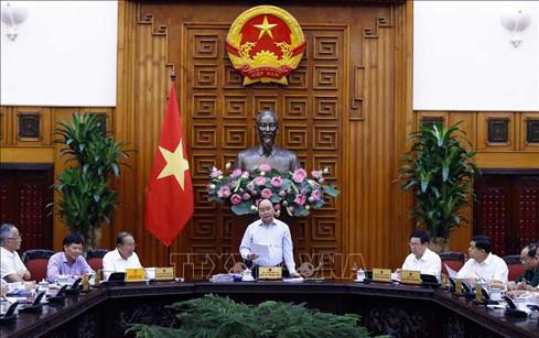阮春福总理主持越共十三大筹备工作经济社会小组常委会会议