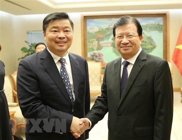 越南愿与广东促进友好务实合作