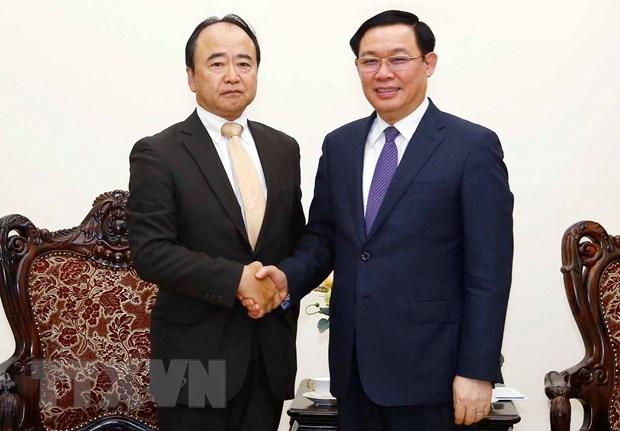 王廷惠副总理会见日本永旺株式会社董事长