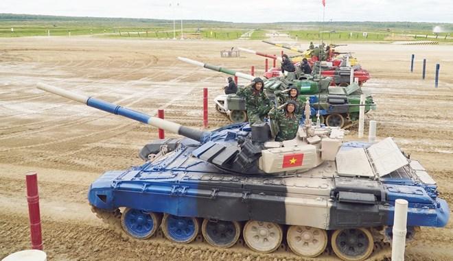 2019年俄罗斯国际军事比赛:越南坦克队获小组第二