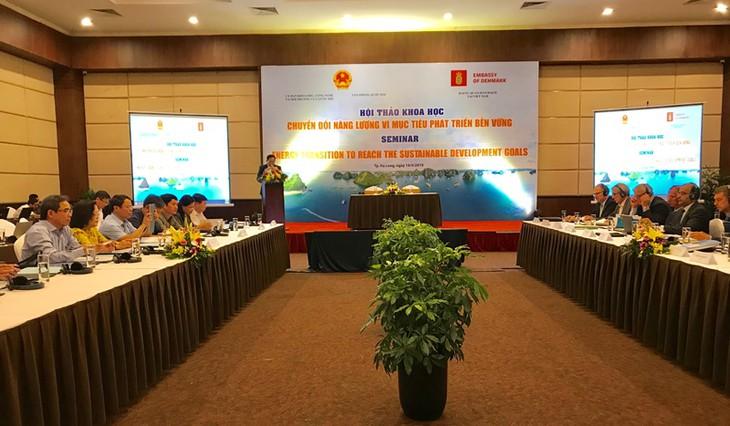 丹麦帮助越南进行能源转型以面向可持续发展