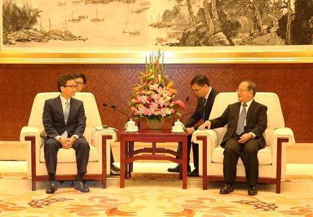 越南政府副总理武德儋出席第16届中国—东盟博览会开幕式