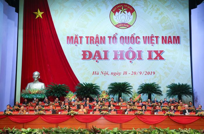 越南祖国阵线第九次全国代表大会在河内隆重召开