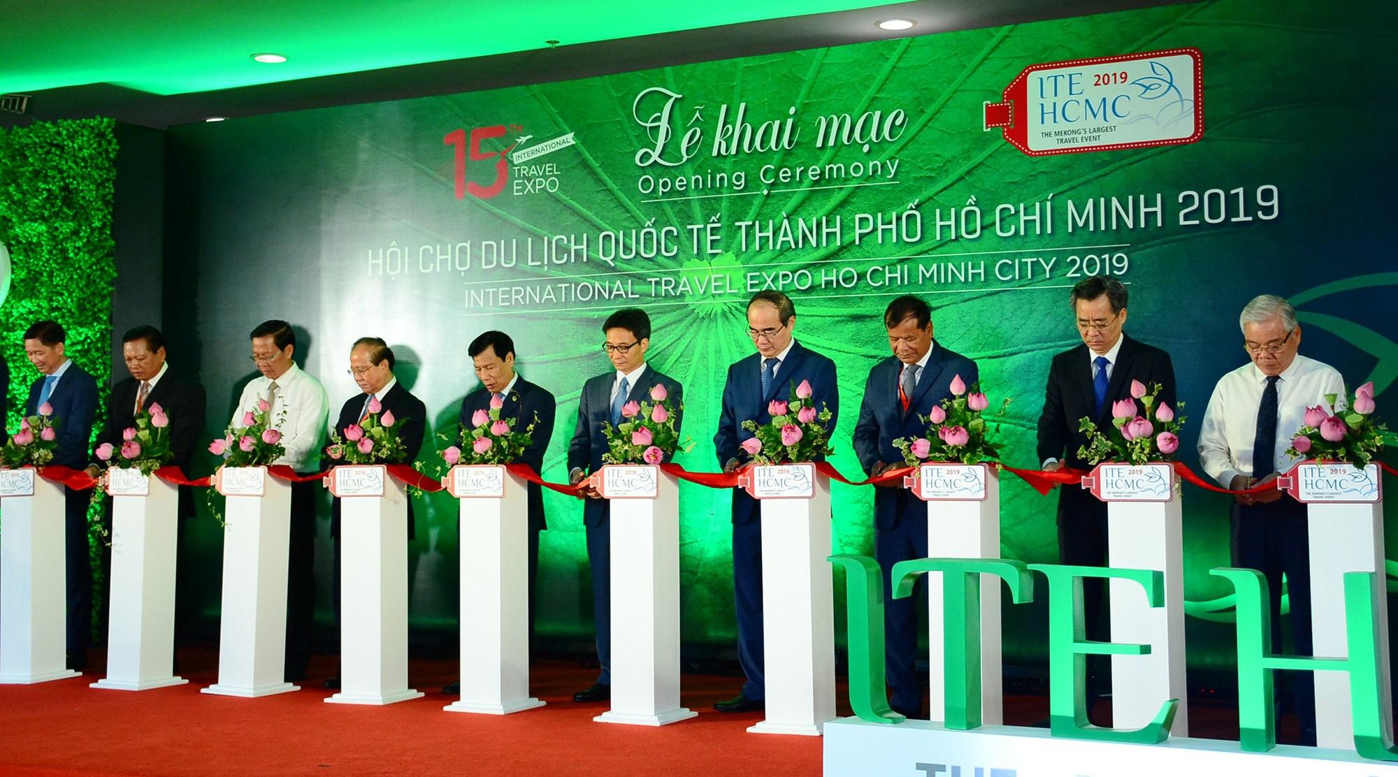 2019年第15届胡志明市国际旅游博览会隆重开展