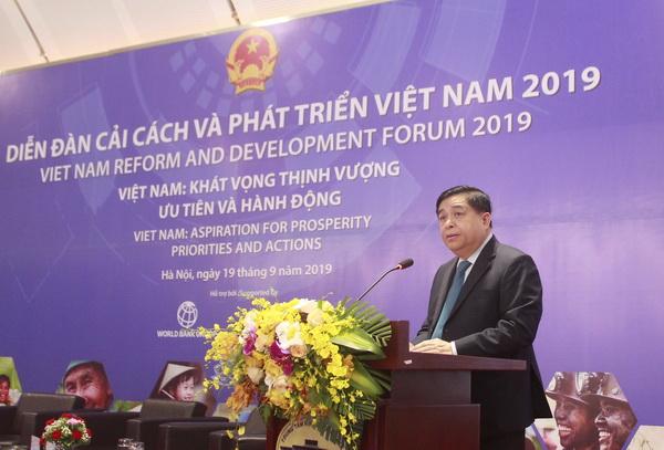 计划投资部与世行联合举办2019年越南革新与发展论坛