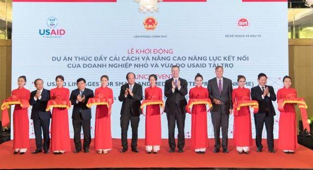 美国承诺将助推越南中小型企业改革和提高对接能力