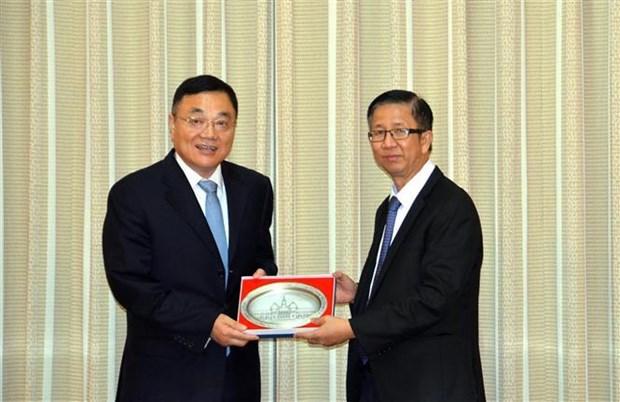加强越南胡志明市与中国江苏省之间的合作