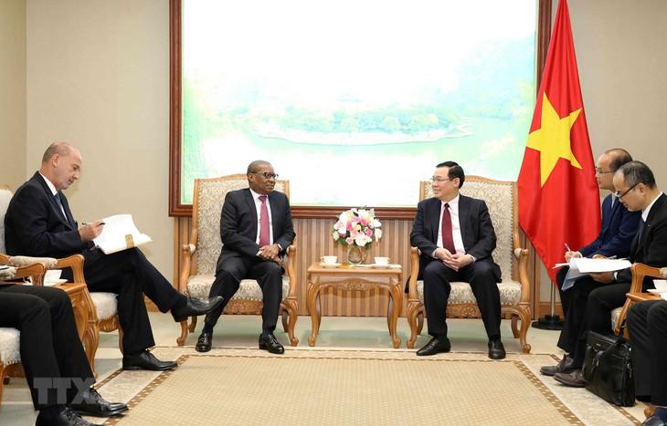 进一步加强越南与南非和尼日利亚之间的关系