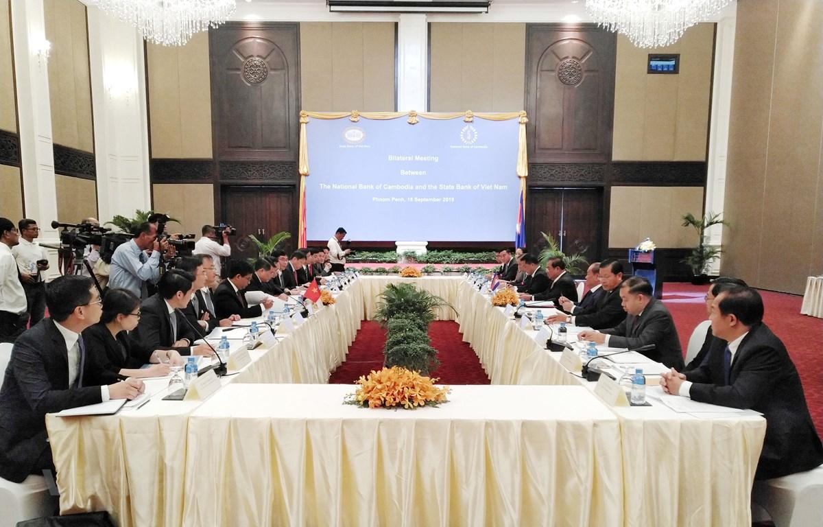 越柬两国央行加强合作