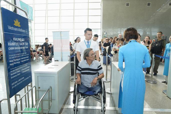 越南航空公司推出特殊服务在线办理