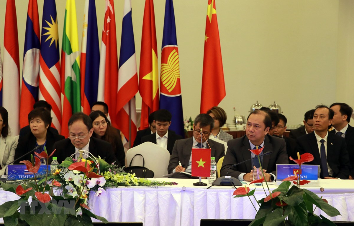 东盟和中国关于落实《东海各方行为宣言》的第18次高官会在大叻市举行
