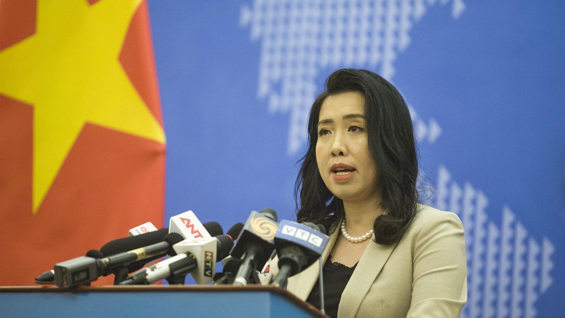 越南坚决维护本国在东海的主权和合法权益