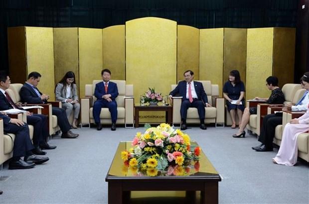 岘港市与韩国大邱市深化友好合作