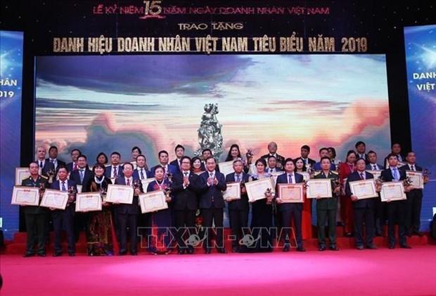 阮春福总理:企业和企业家的成功就是政府、人民和国家的成功