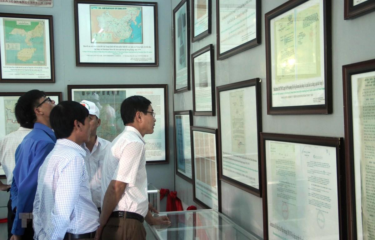 """""""黄沙与长沙归属越南""""数字化展览在广南省举行"""