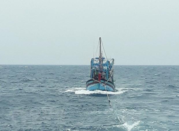 成功救助在平顺海域上遇险的渔船和渔民