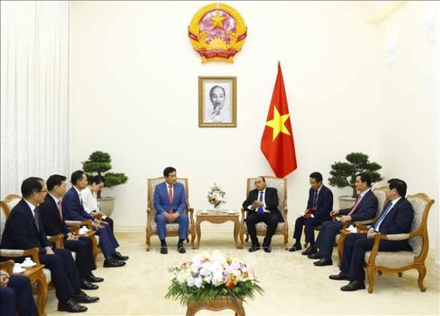 阮春福总理:韩企继续加强对越投资