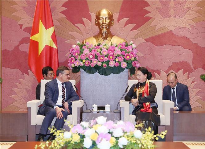 越南一向将德国视为重要伙伴