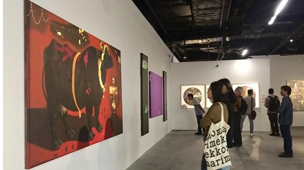 亚洲优秀画家画展:推动亚洲各国文化交流