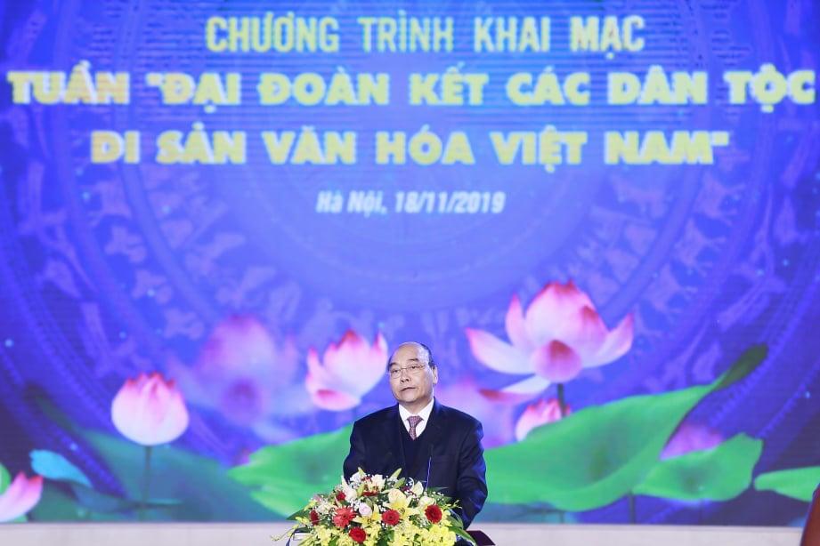 """2019年""""越南文化遗产—各民族大团结周""""隆重开幕"""
