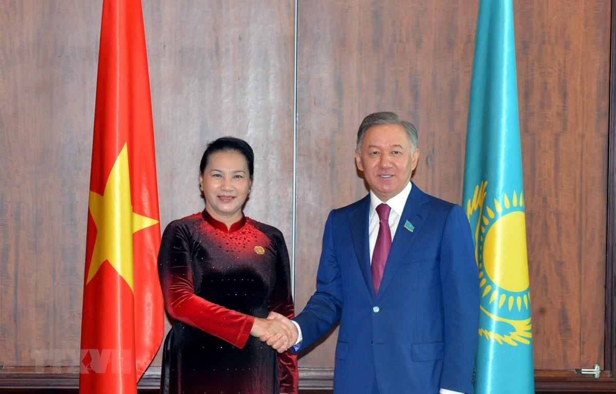 哈萨克斯坦注重促进与越南国会的合作