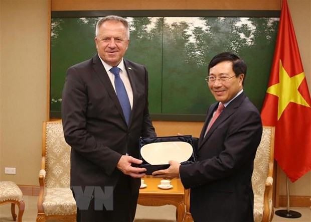 越南希望促进与斯洛文尼亚在经贸投资领域的合作