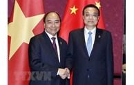 阮春福总理:越南高度重视发展越中关系