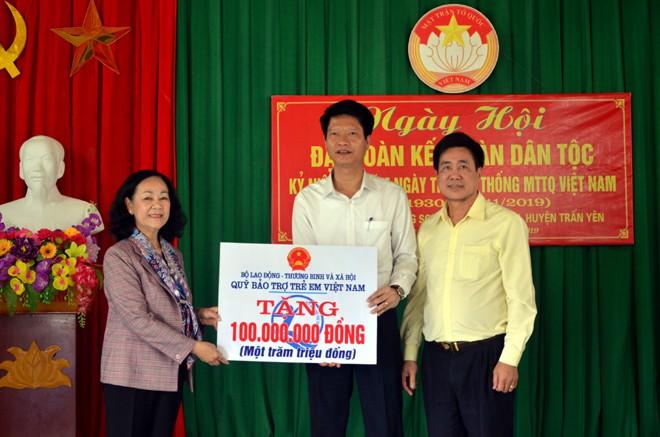 全民族大团结日活动在安沛和宁平两省举行