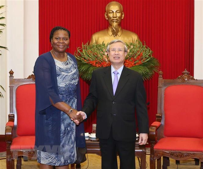 越南一向重视发展与莫桑比克的关系